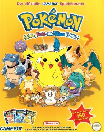 Pokemon gelb rot und blau Spieleberater