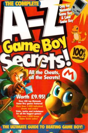 A-Z Game Boy Secrets Front
