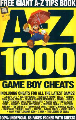 Giant A-Z Cheats Book Front