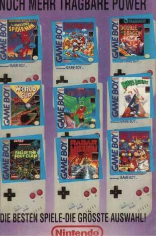 GB Games Guide Rückseite