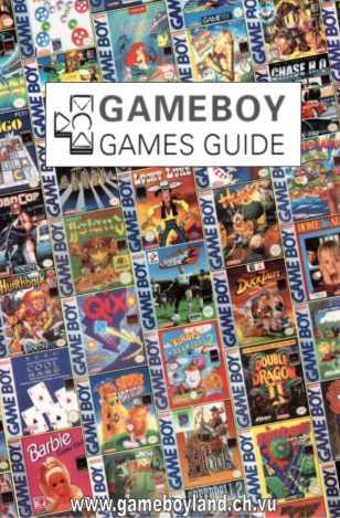 GB Games Guide Vorderseite