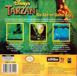 Tarzan Rückseite Fake