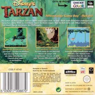 Tarzan Rückseite Original
