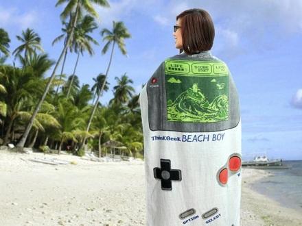 Beach Boy Towel 3