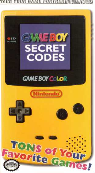 Game Boy Secret Codes Vorderseite