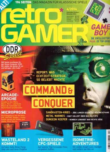 Retro Gamer 4-2014