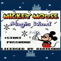 SGB Titel Mickey Mouse Magic Wand