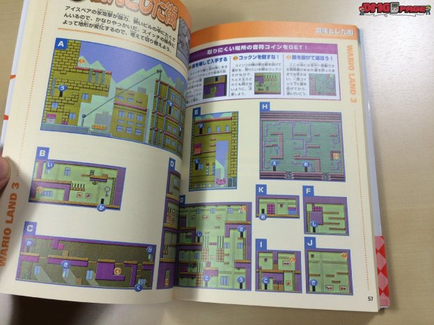 Wario Land 3 Nintendo offcial guide book 7