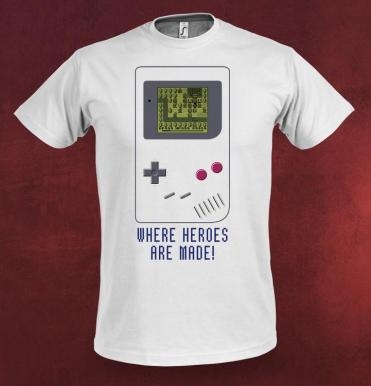 Where Heroes are made Shirt 1