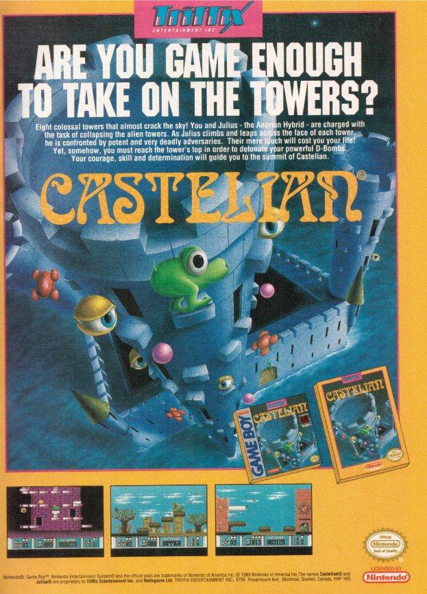 Werbung Castelian