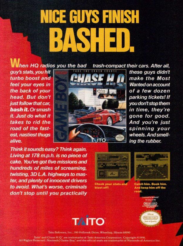 Werbung Chase HQ