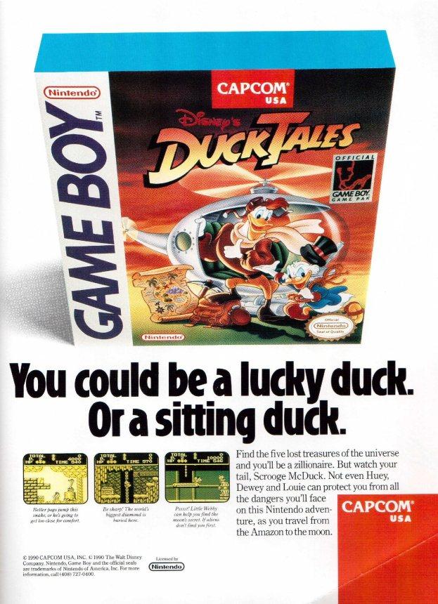 Werbung Duck Tales