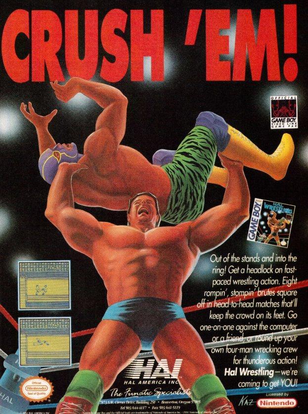 Werbung Hal Wrestling