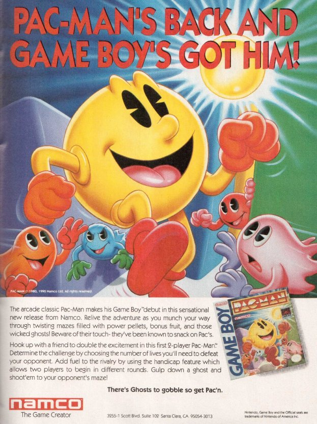 Werbung Pac-Man