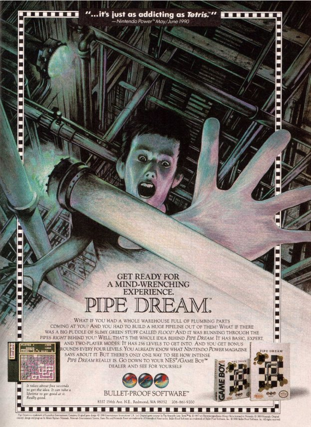 Werbung Pipe Dream