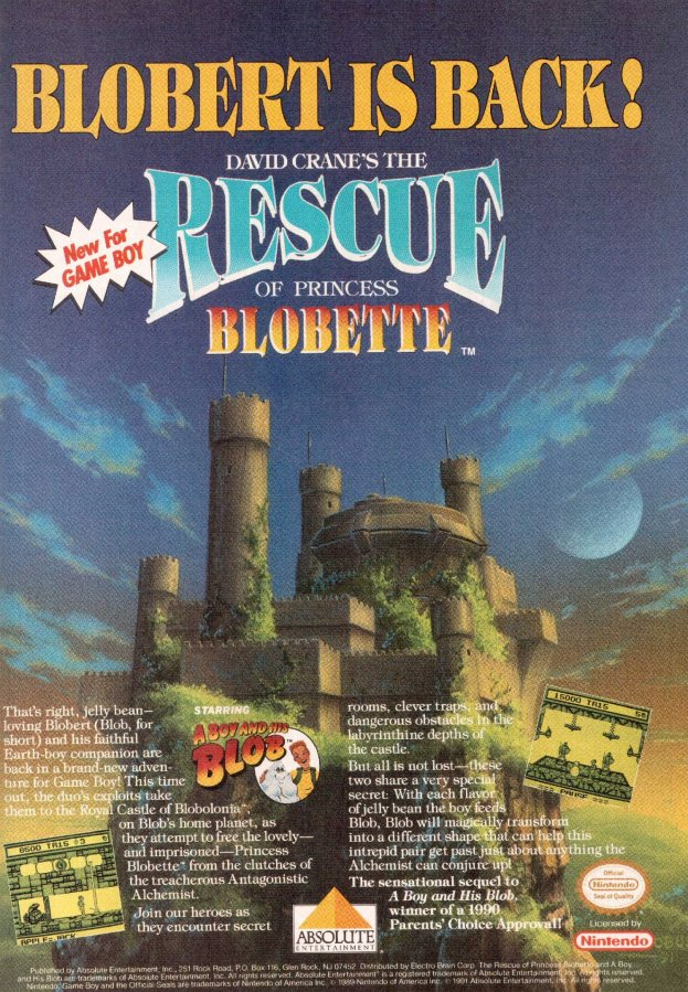 Werbung Rescue of Princess Blobette