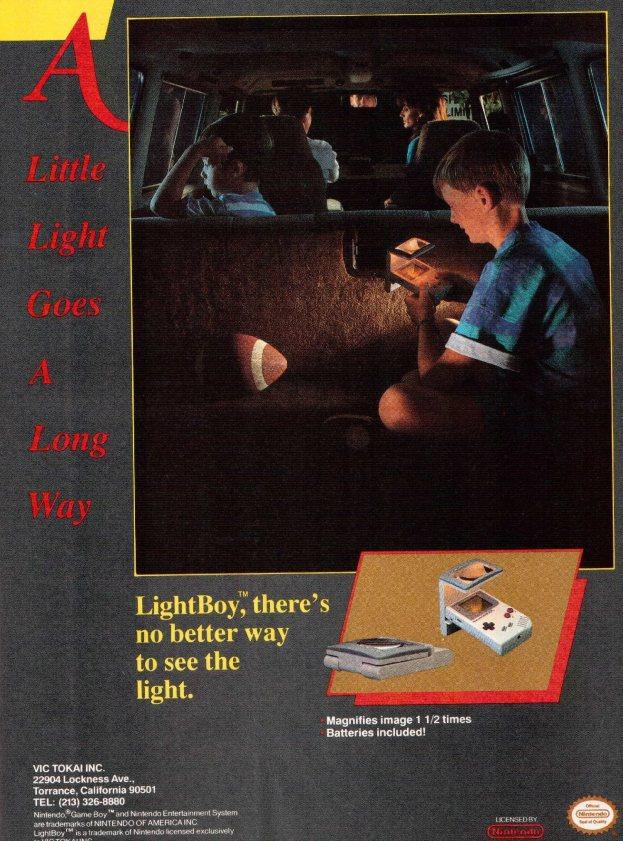 Werbung VIC Lightboy