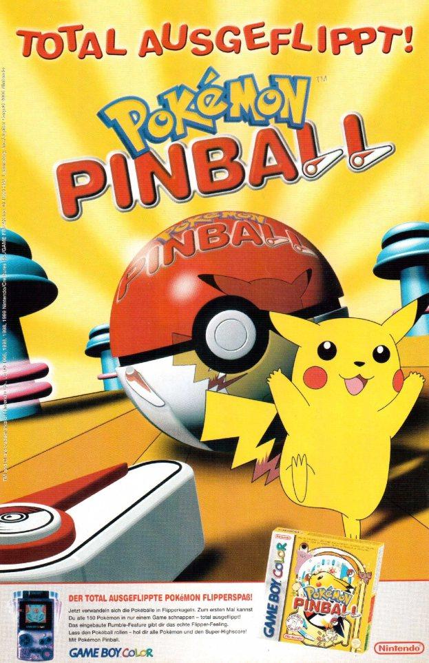 Werbung Pokemon Pinball