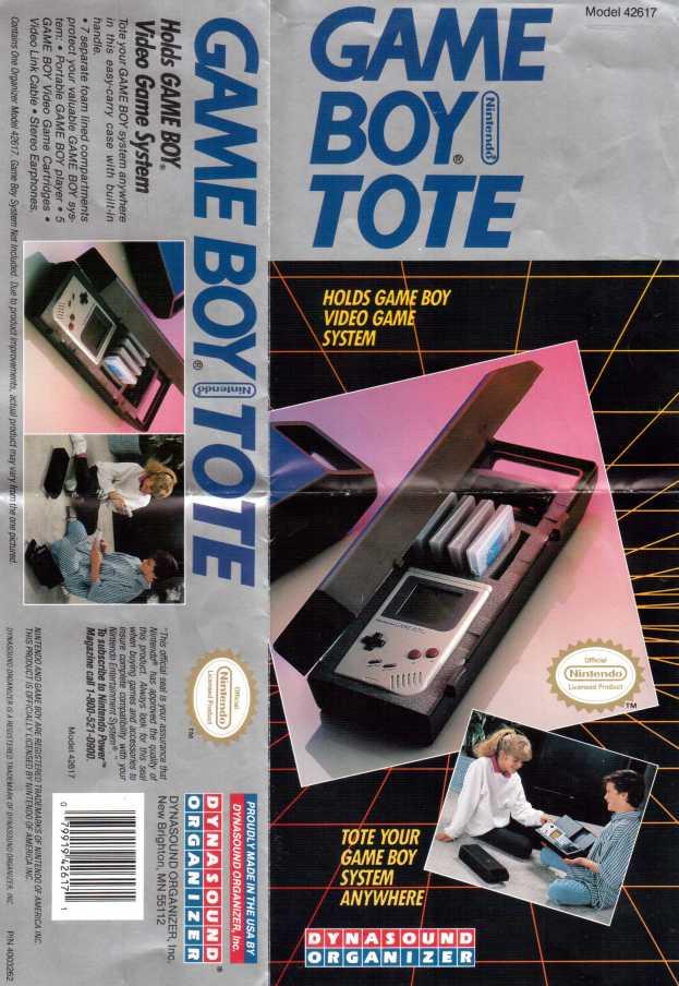 Dynasound Organizer Game Boy Tote Tragetasche