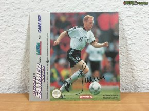 Matthias Sammer Soccer Autogrammkarte (2)
