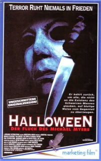 Halloween 6 VHS Cover