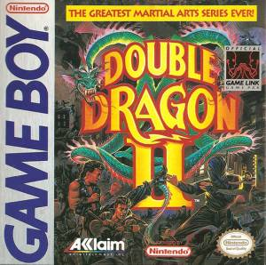 Double Dragon II OVP Cover