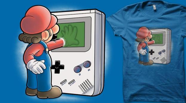 Mario through the console