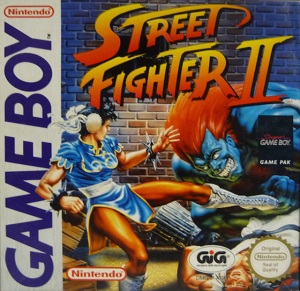 Street Fighter II Cover