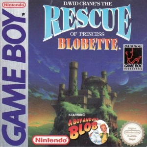 The Rescue of Princess Blobette Cover