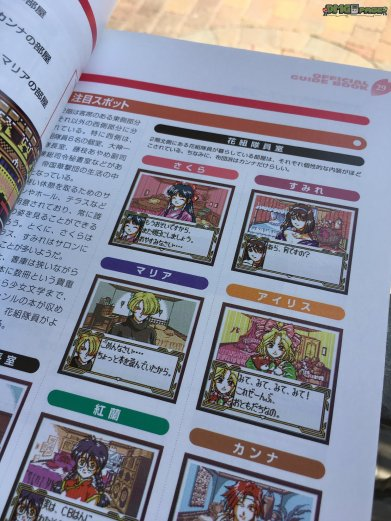 Sakura Wars Games Guide 4