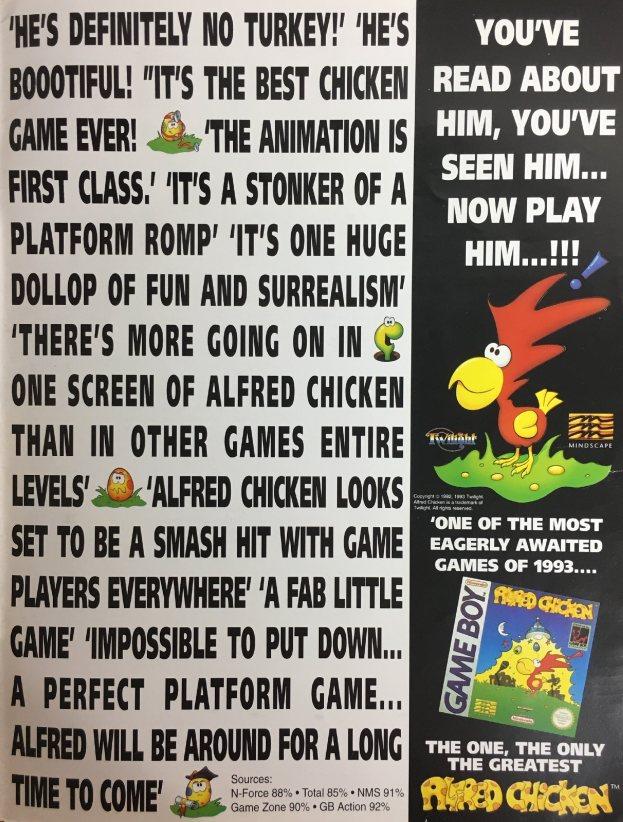 Werbung Alfred Chicken