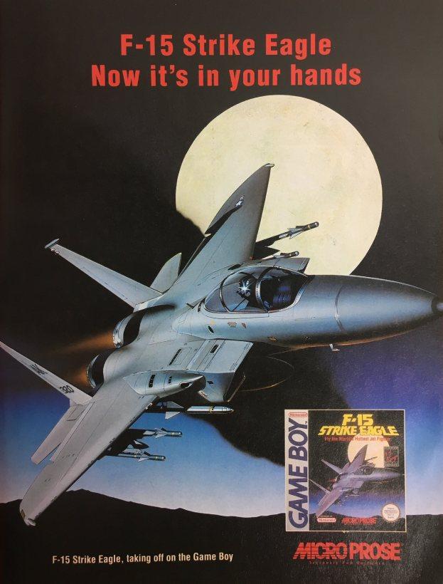 Werbung F-15 Strike Eagle