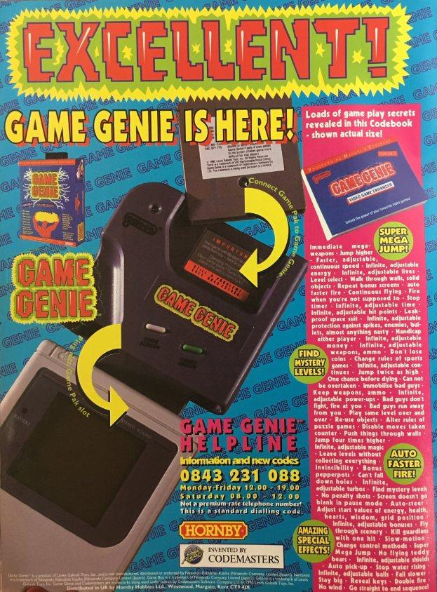 Werbung Game Genie