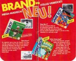 GB brandneue Spiele bis Herbst 93-2
