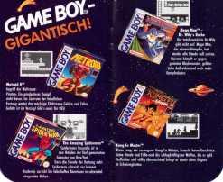 GB brandneue Spiele bis Herbst 93-4