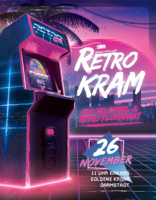 Retro Kram Flohmarkt Novemder 2017