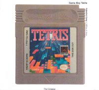 Game Boy Tetris - The Container Vorderseite