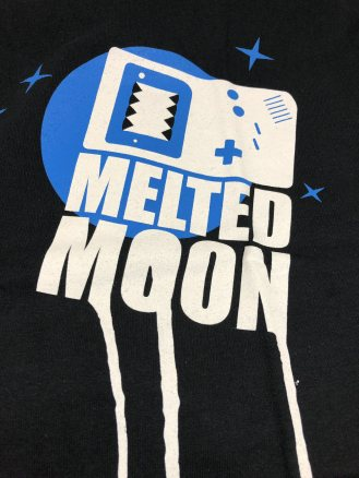 Melted Moon - Moon Melting T-Shirt (3)