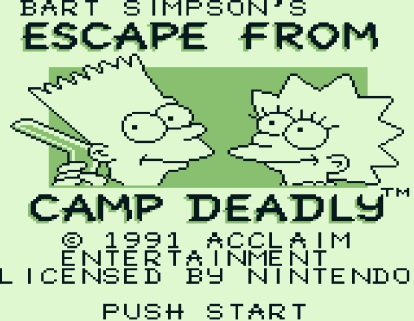 Angespielt Bart Simpsons Escape from Camp Deadly (1)
