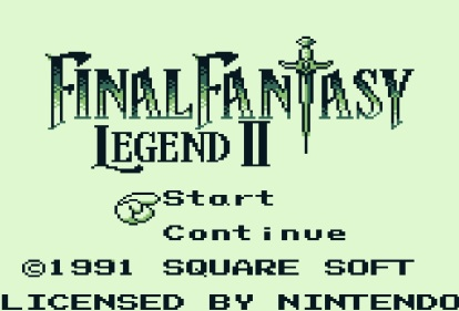 Angespielt Final Fantasy Legend II (1)
