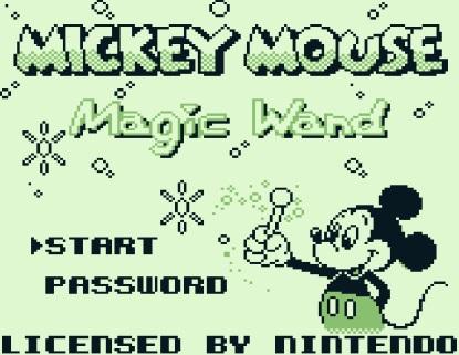 Angespielt Mickey Mouse V Zauberstäbe (1)