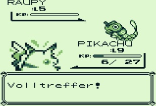 Angespielt Pokemon Gelbe Edition (2)