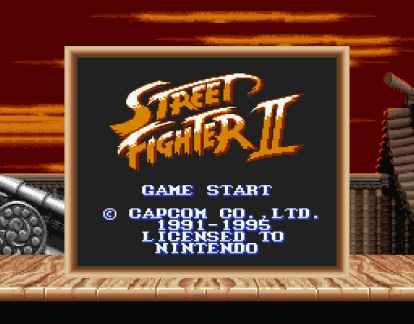 Angespielt Street Fighter II (1)