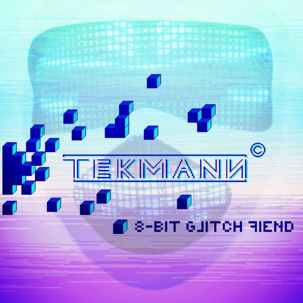 Tekmann - 8-bit Glitch Fiend Cover
