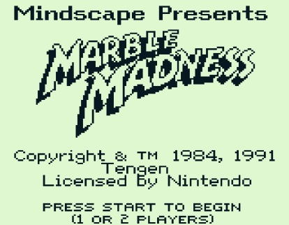 Angespielt Marble Madness (1)