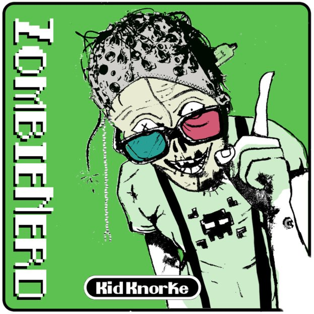 Kid Knorke- Zombienerd EP Cover