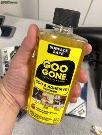 Aufkleber entfernen mit Goo Gone (2)