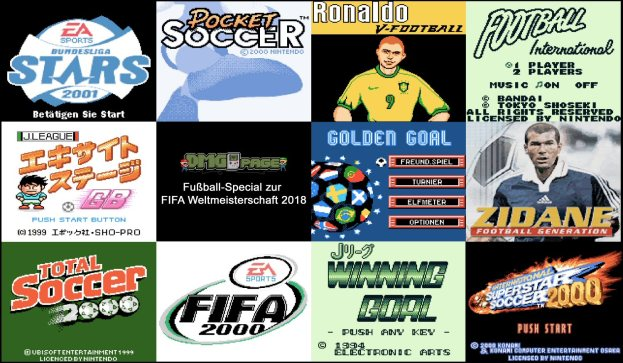 FIFA WM 2018 Special Titelgrafik