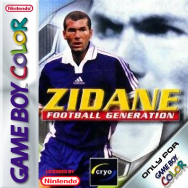 Zidane Football Generation Cover
