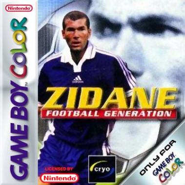 Zidane Football Generation Cover